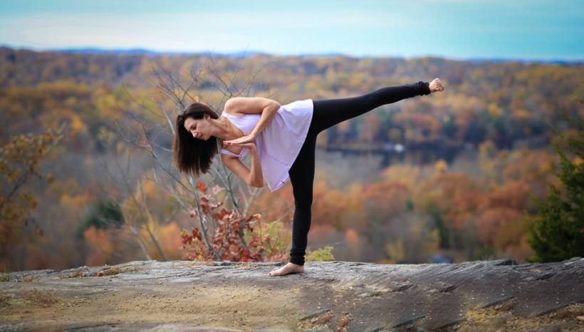 6 Yoga Poses to Ground You This Earth Day