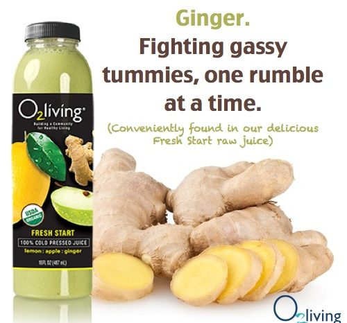 Tummy Pains? Gas? Inflammation? Ginger to the Rescue!